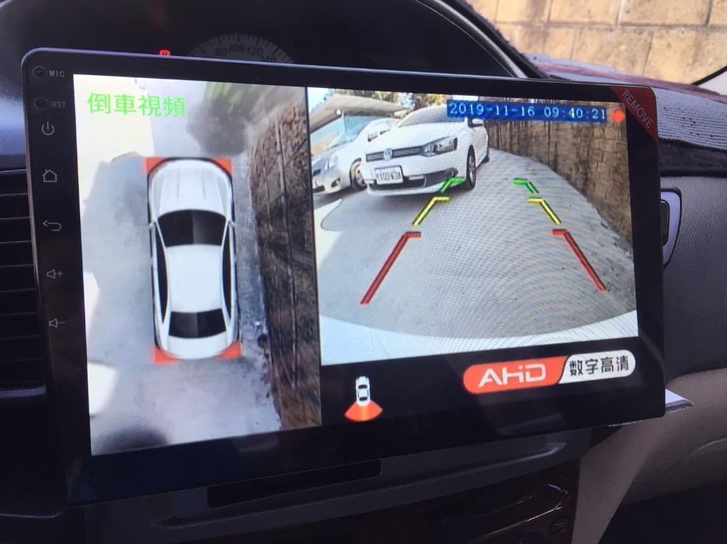 2003 Toyota Vios 加裝大螢幕安卓機 環景系統 倒車顯影