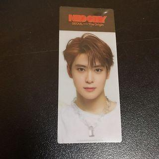 NCT127 JAEHYUN NEO CITY SEOUL BOOKMARK