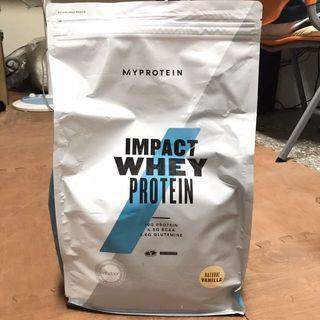myprotein impact whey protein 天然香草 5kg