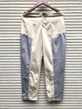 2 tone pant katun / celana katun