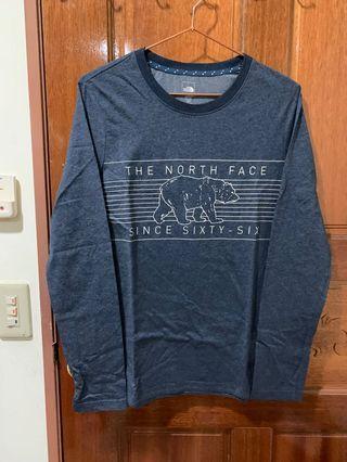 The north face 長袖上衣