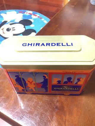 美國帶回巧克力鐵盒