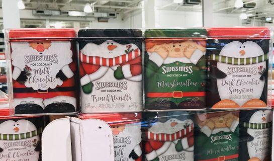 Costco好市多 SWISS MISS 聖誕節可可粉禮盒組 4罐入 共723g  X'mas gift