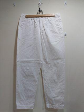 Brus 純白直筒長褲