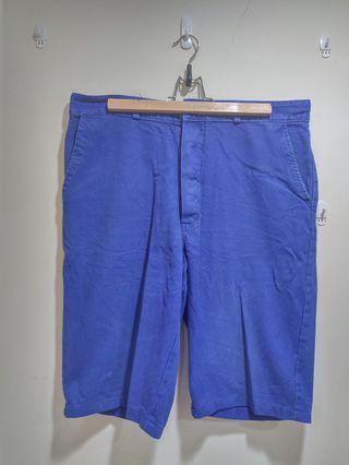 【古著】法國工裝短褲(愛頭牌購入)
