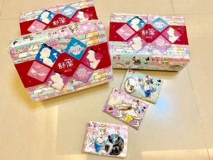 舒潔迪士尼公主系列袖珍面紙(30包)