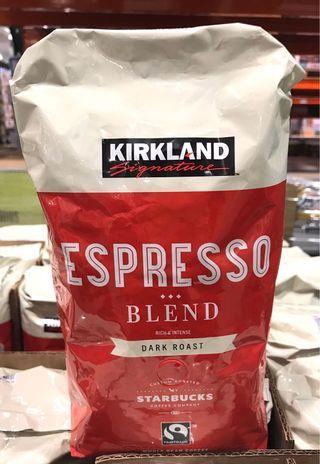 Costco好市多 KIRKLAND 科克蘭 義式深度烘焙咖啡豆 907g  espresso