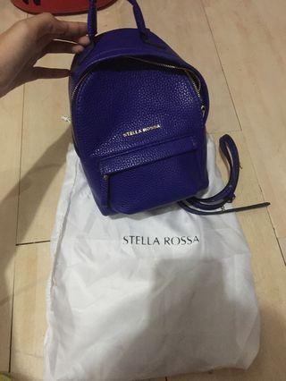Stella rossa backpack