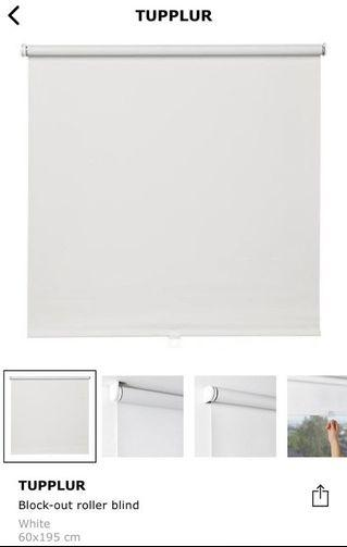IKEA TUPPLUR Black Out Roller Blind