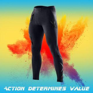 Free Delivery T Men Bodybuilding Trousers Pants Sports Tights Fitness Clothes Running Clothes Riding Clothes Fast Dry Trousers Compression