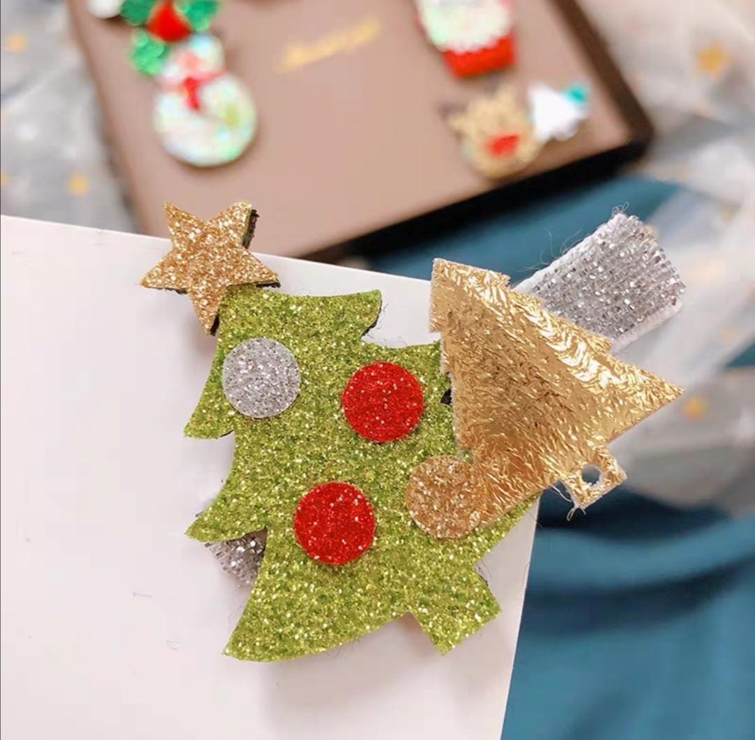 女童任選2件聖誕韓版髮飾