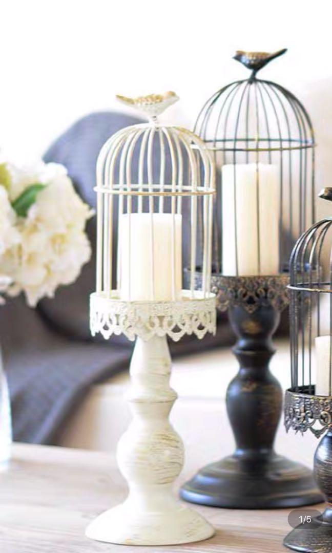 婚後物資 蠟燭台 白色