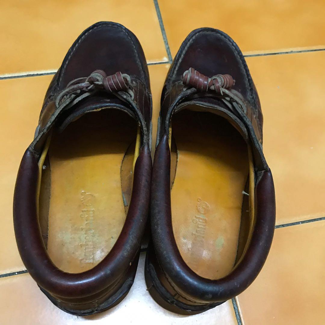 經典帆船鞋 雷根鞋 懶人鞋 休閒鞋 英倫雅痞百搭款 Timberland 踢不爛 咖啡色 正品