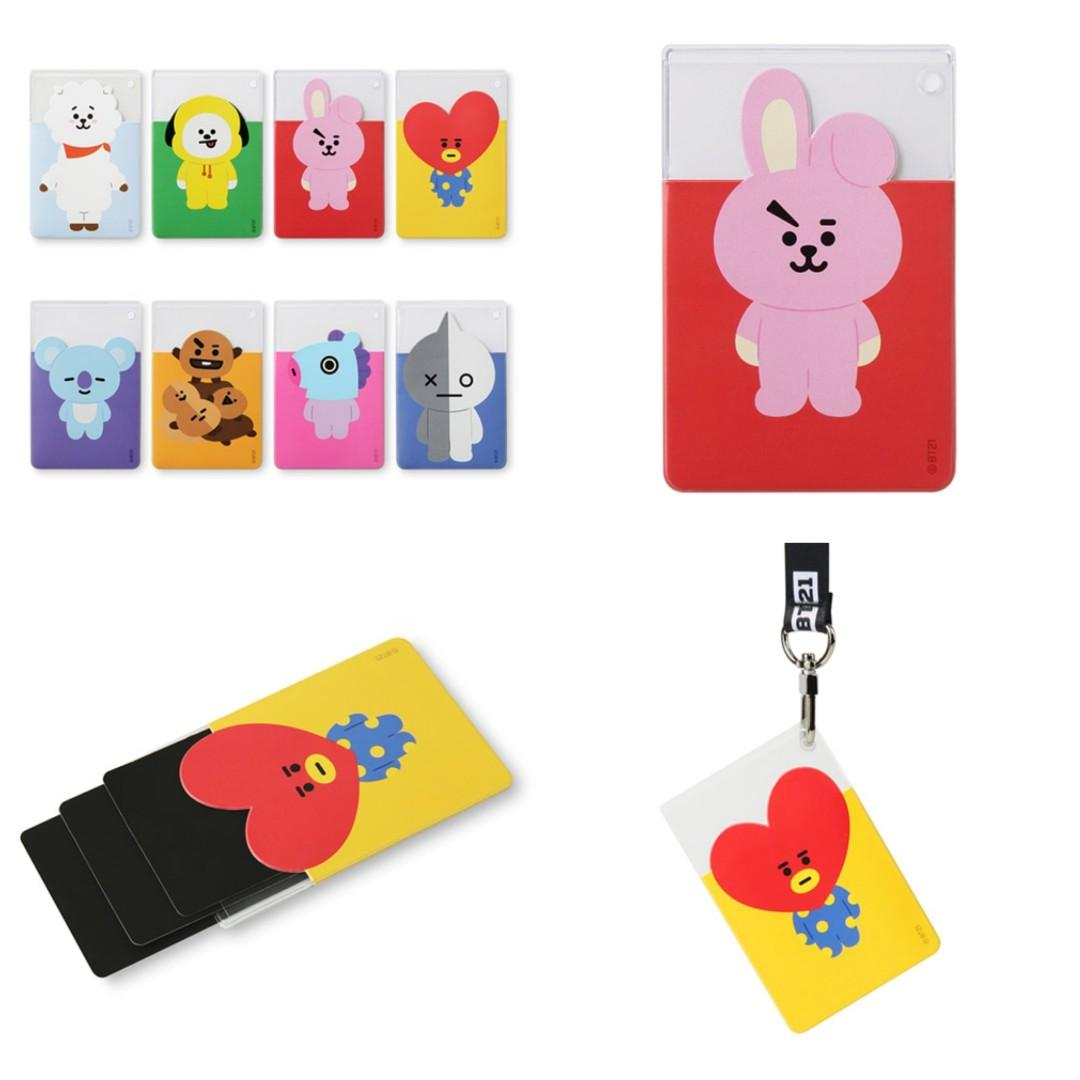 <🇰🇷 GO> BT21 X MONOPOLY CARD POCKET / CARD HOLDER / CARD CASE #BTS