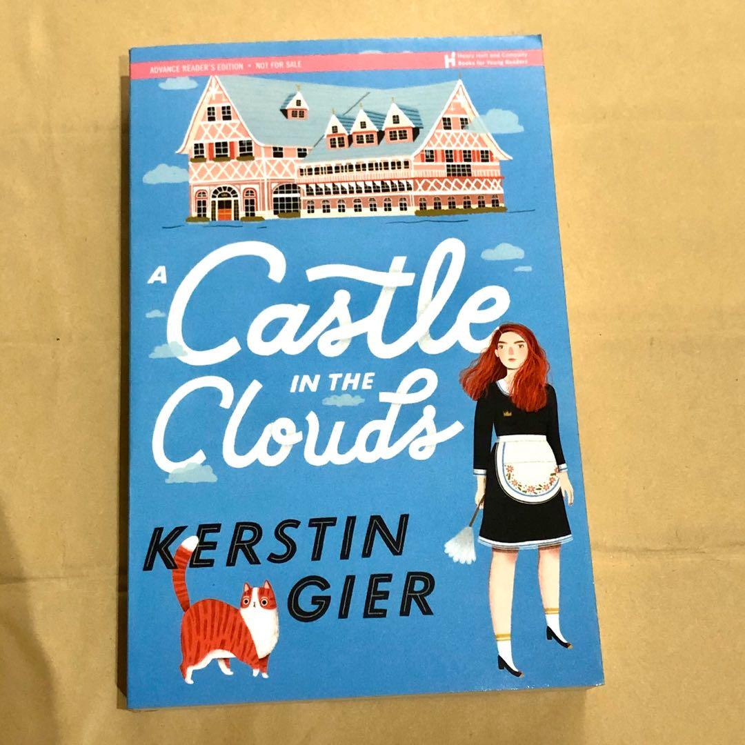 A castle in the clouds ARC 2020 release ya fantasy contemporary paperback kerstin gier