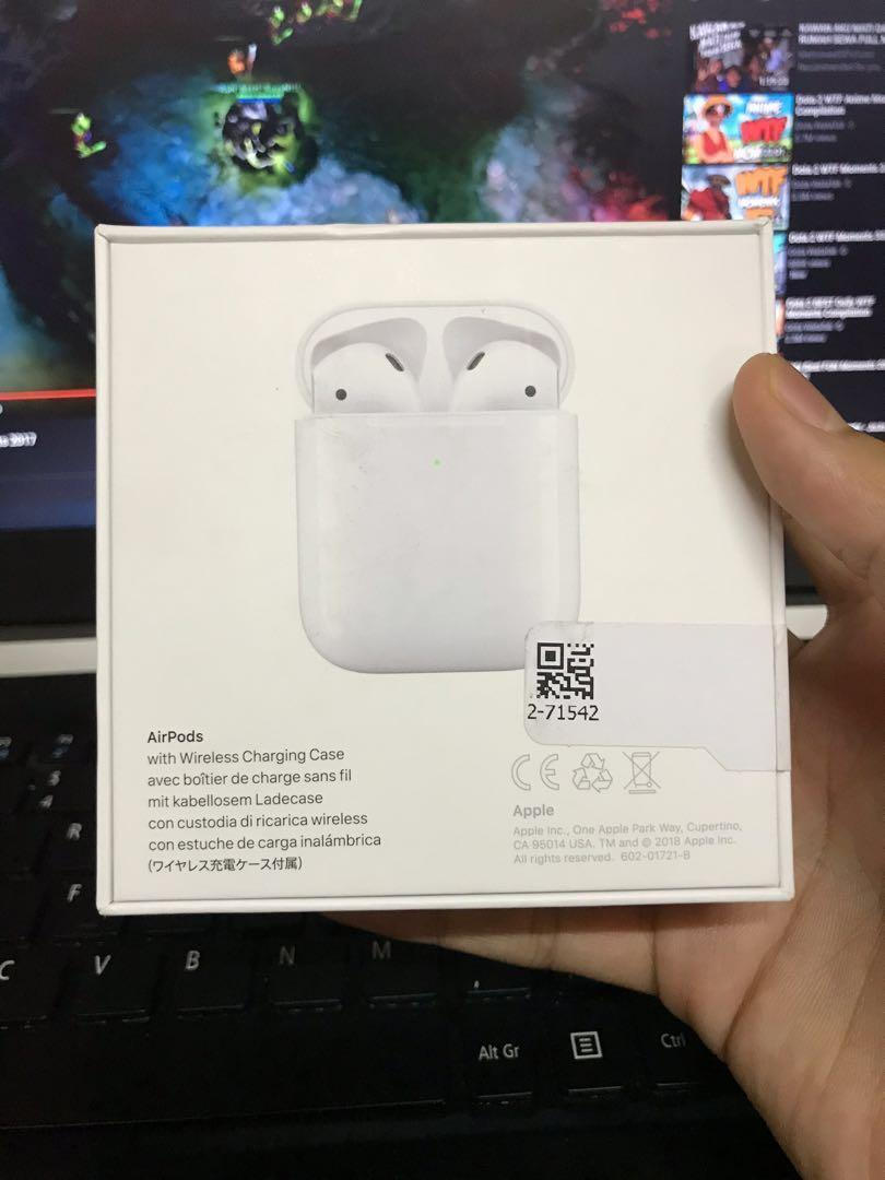 Airpod 2 with wireless charging case custom limited