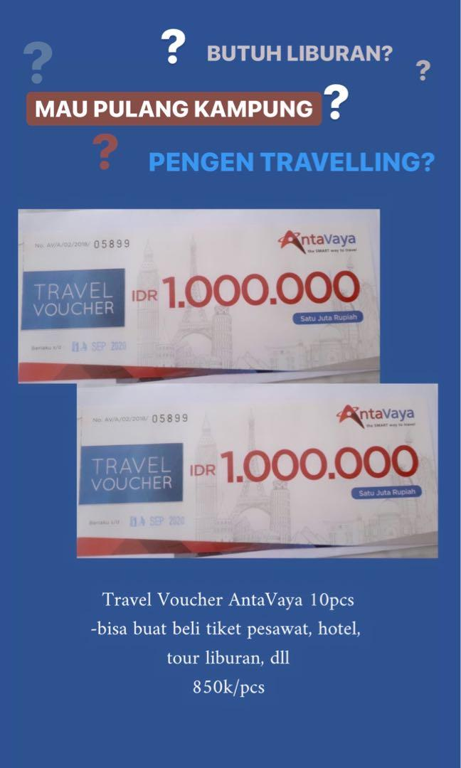 Antavaya Travel Voucher @1jt