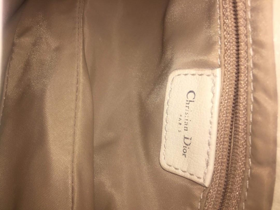 Authentic Christian Dior Flower Saddle limited edition bag