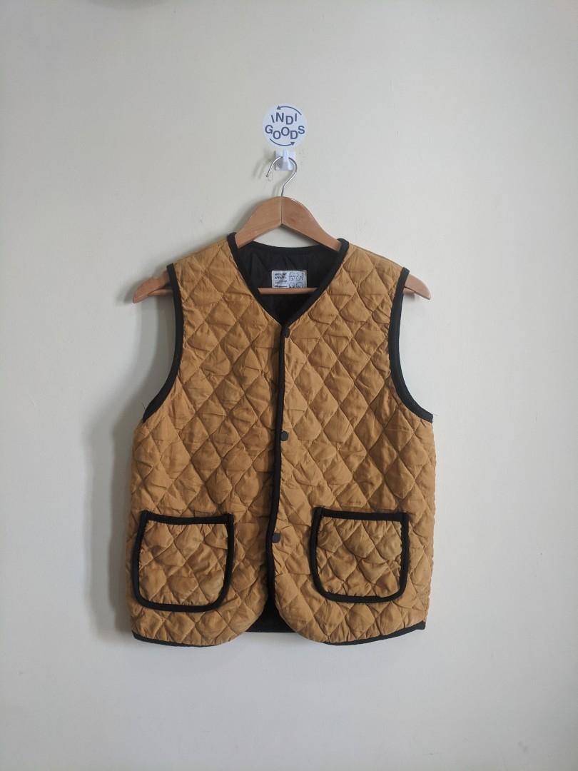 Awesome Apparel Paded Mustard Colorways Vest #1111special
