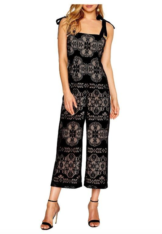 BNWOT ALICE MCCALL BLACK TOGETHER JUMPSUIT - SIZE 6 AU/2 US (RRP $450)