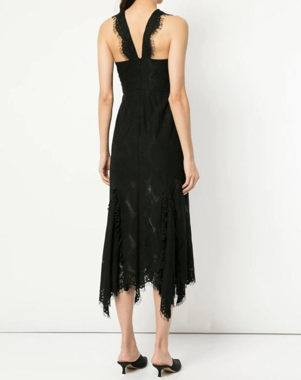 BNWT ALICE MCCALL BLACK MEANT TO BE DRESS - SIZE 14 AU/10 US (RRP $490)