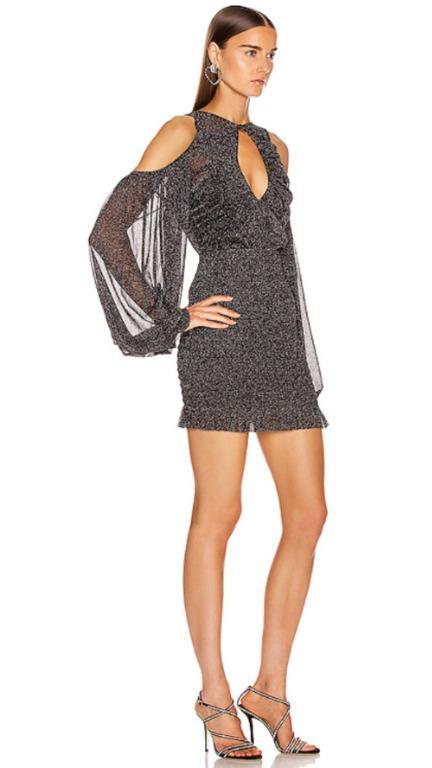 BNWT ALICE MCCALL BLACK SPELL MINI DRESS - SIZE 6 AU/2 US (RRP $360)
