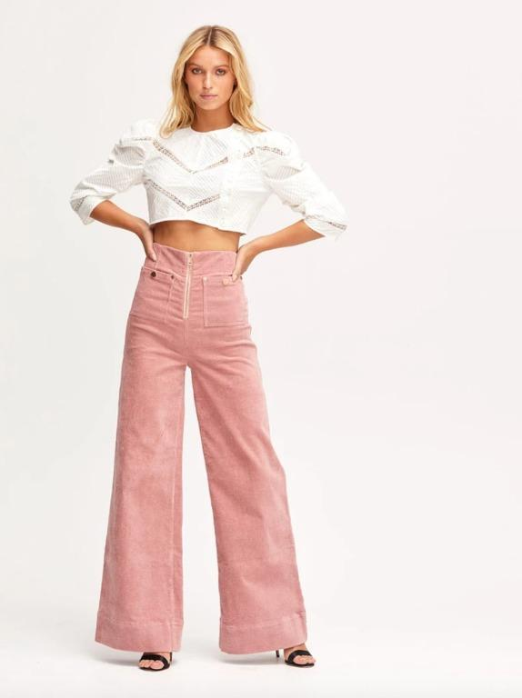 BNWT ALICE MCCALL BLOSSOM BLUESY JEANS - SIZE 12 AU/8 US (RRP $260)