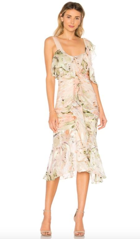 BNWT ALICE MCCALL BLUSH OH ROMEO DRESS - SIZE 10 AU/6 US (RRP $490)
