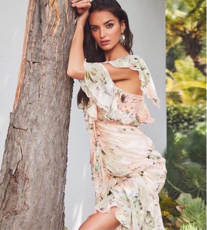 BNWT ALICE MCCALL BLUSH OH ROMEO DRESS - SIZE 12 AU/8 US (RRP $490)