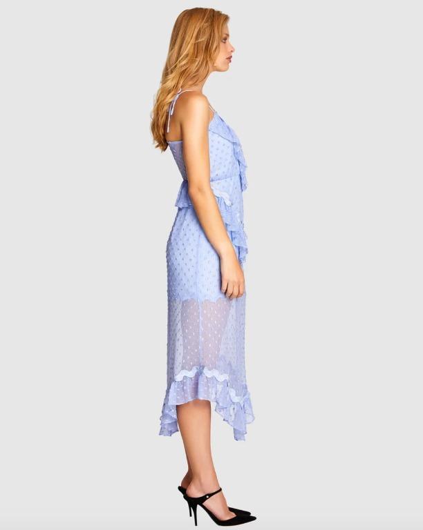 BNWT ALICE MCCALL PERIWRINKLE WONDERS DRESS - SIZE 14 AU/10 US (RRP $475)