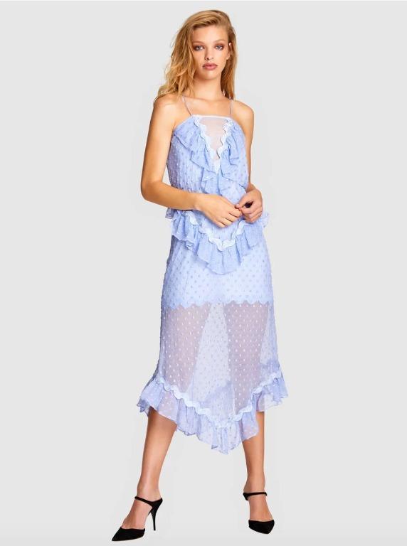 BNWT ALICE MCCALL PERIWRINKLE WONDERS DRESS - SIZE 8 AU/4 US (RRP $475)