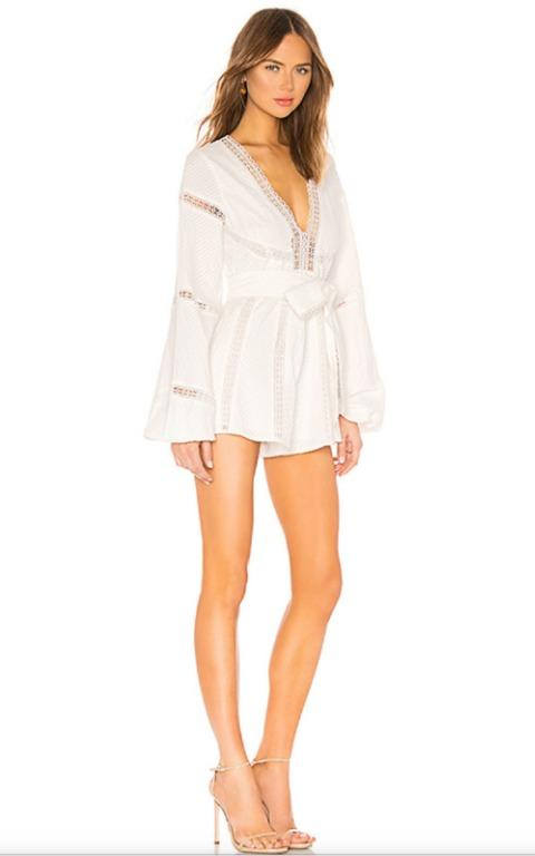 BNWT ALICE MCCALL PORCELAIN FOREIGN AFFAIR PLAYSUIT - SIZE 10 AU/6 US (RRP $425