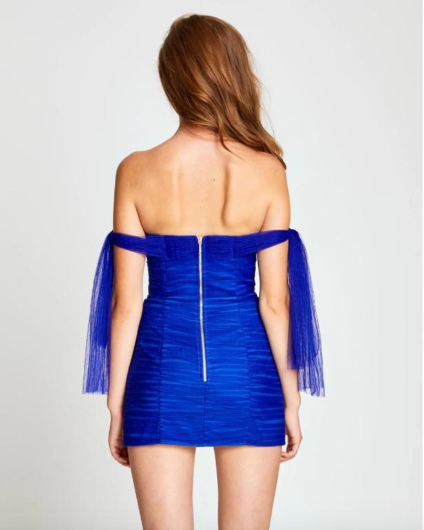 BNWT ALICE MCCALL ROYAL GOOD VIBES DRESS - SIZE 8 AU/4 US (RRP $395)