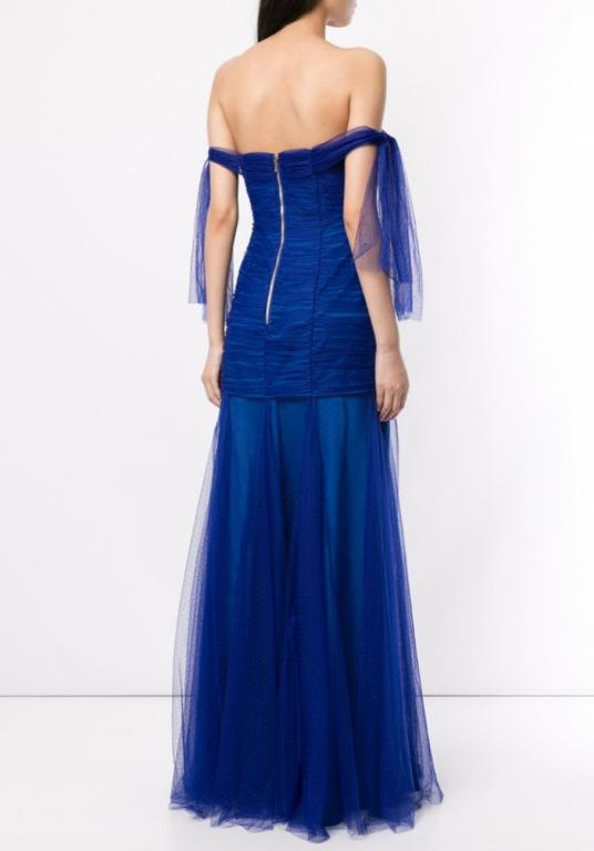 BNWT ALICE MCCALL ROYAL GOOD VIBES GOWN - SIZE 4 AU/0 US (RRP $395)