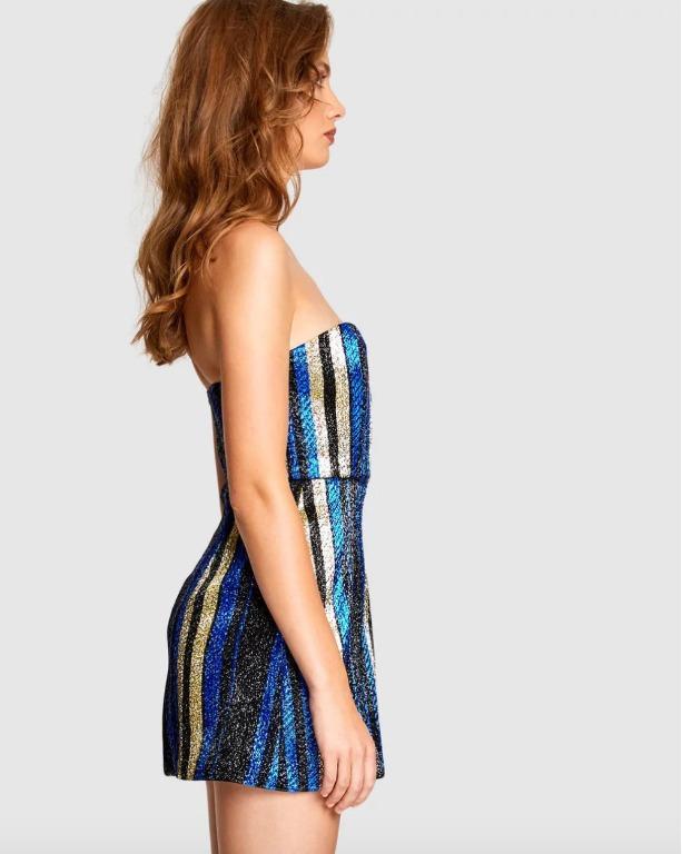 BNWT ALICE MCCALL ROYAL ONE WORLD MINI DRESS - SIZE 6 AU/2 US (RRP $450)