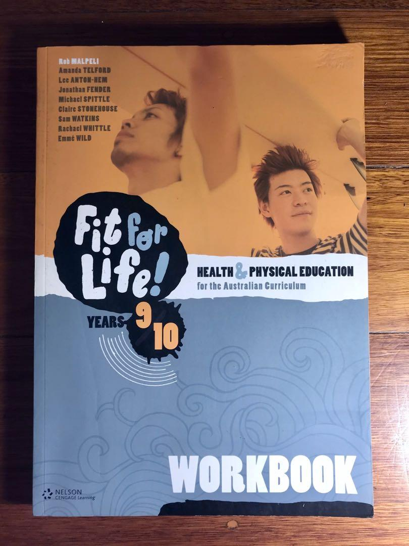 BRAND NEW Fit for Life Health and Physical Education Workbook