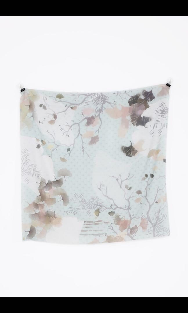 buttonscarves ginkgo series