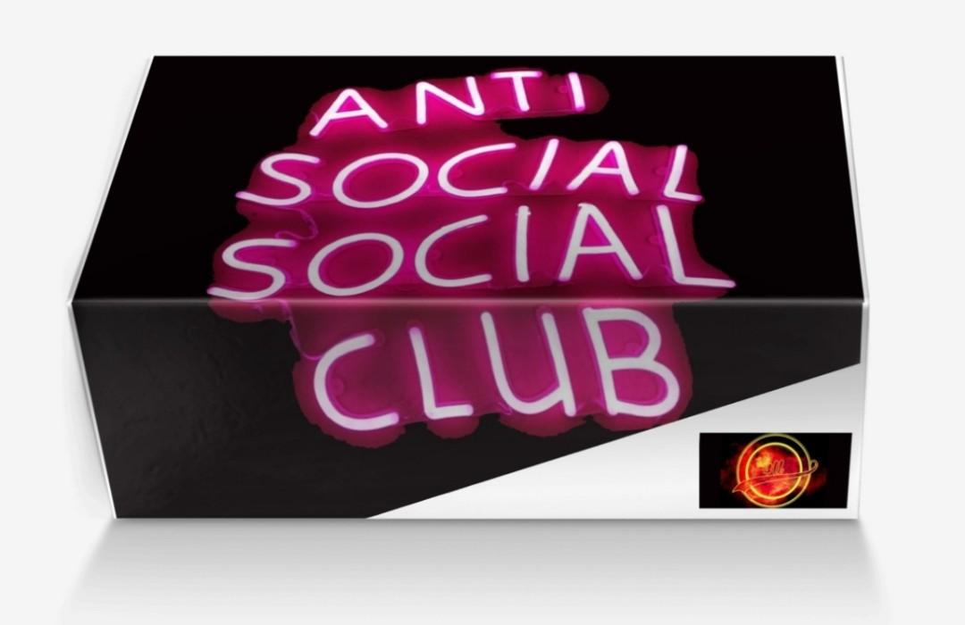 Come To Your Very Own Anti Social Social Club 4U By Designs By You