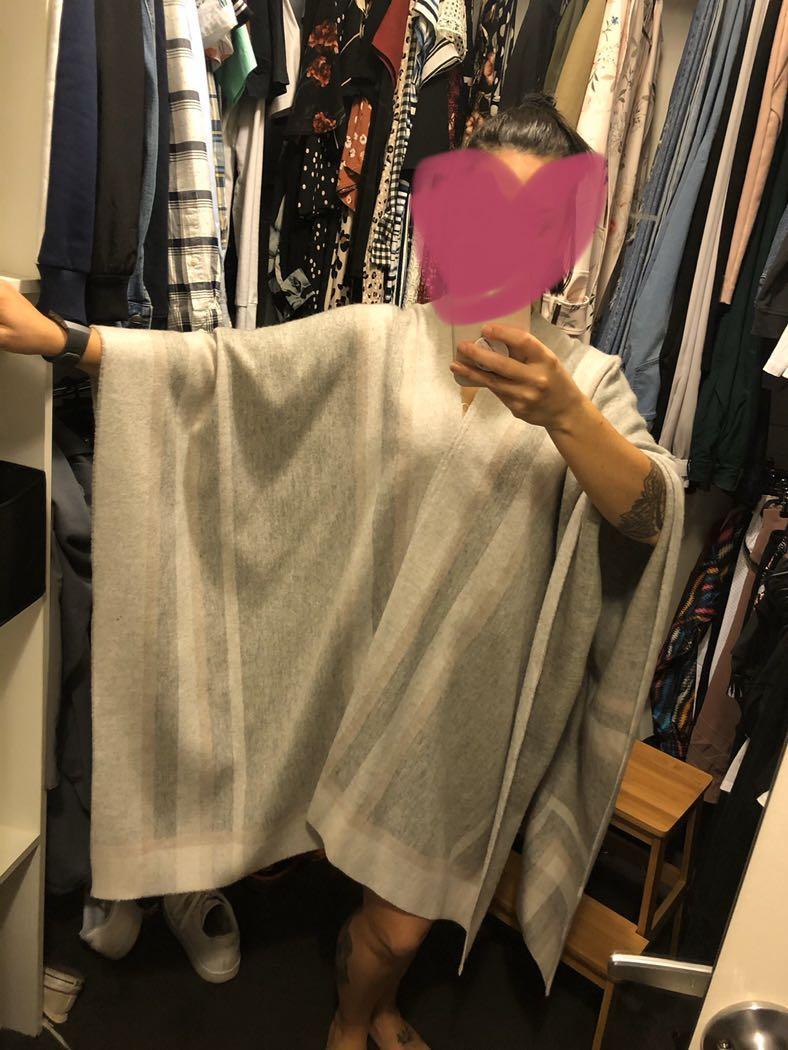 Country Road Knit Poncho one size like new #swapau