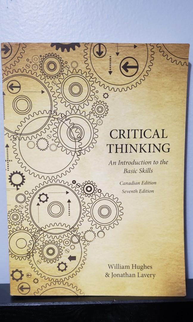 Critical thinking: An introduction to the basic skill