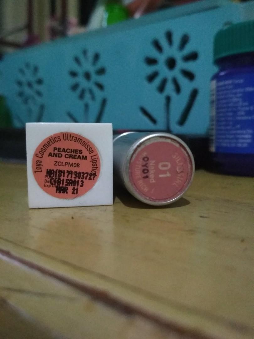 (FREEONG) Zoya dan Silky Girl Lipstick FREE ONGKIR JABODETABEK