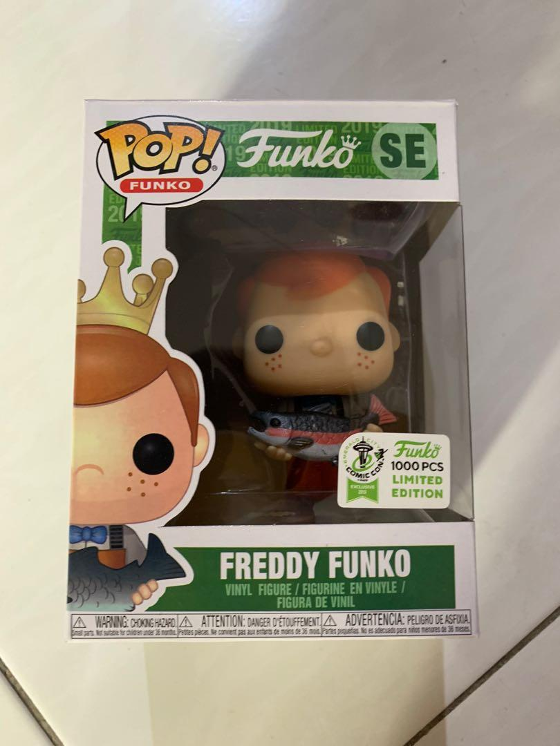 Funko Pop! Freddy Funko with Fish (Brown Pants) ECCC 2019