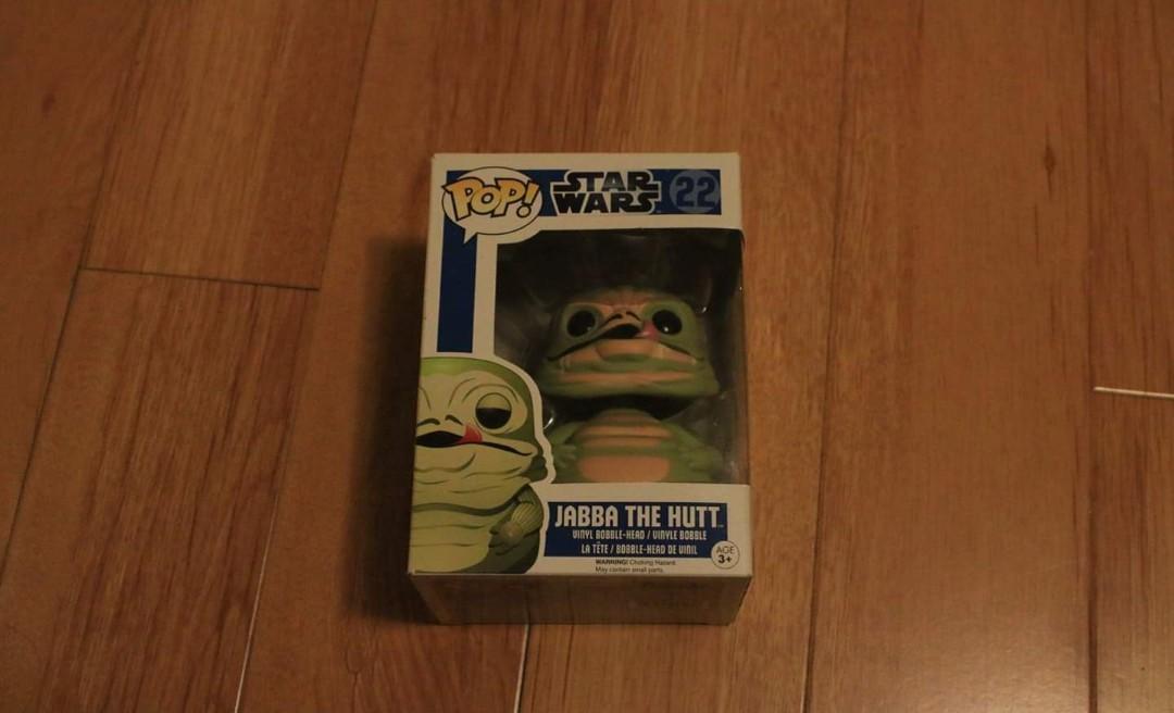 Funko Pop! Star Wars - Jabba The Hutt #22 Vinyl Figure