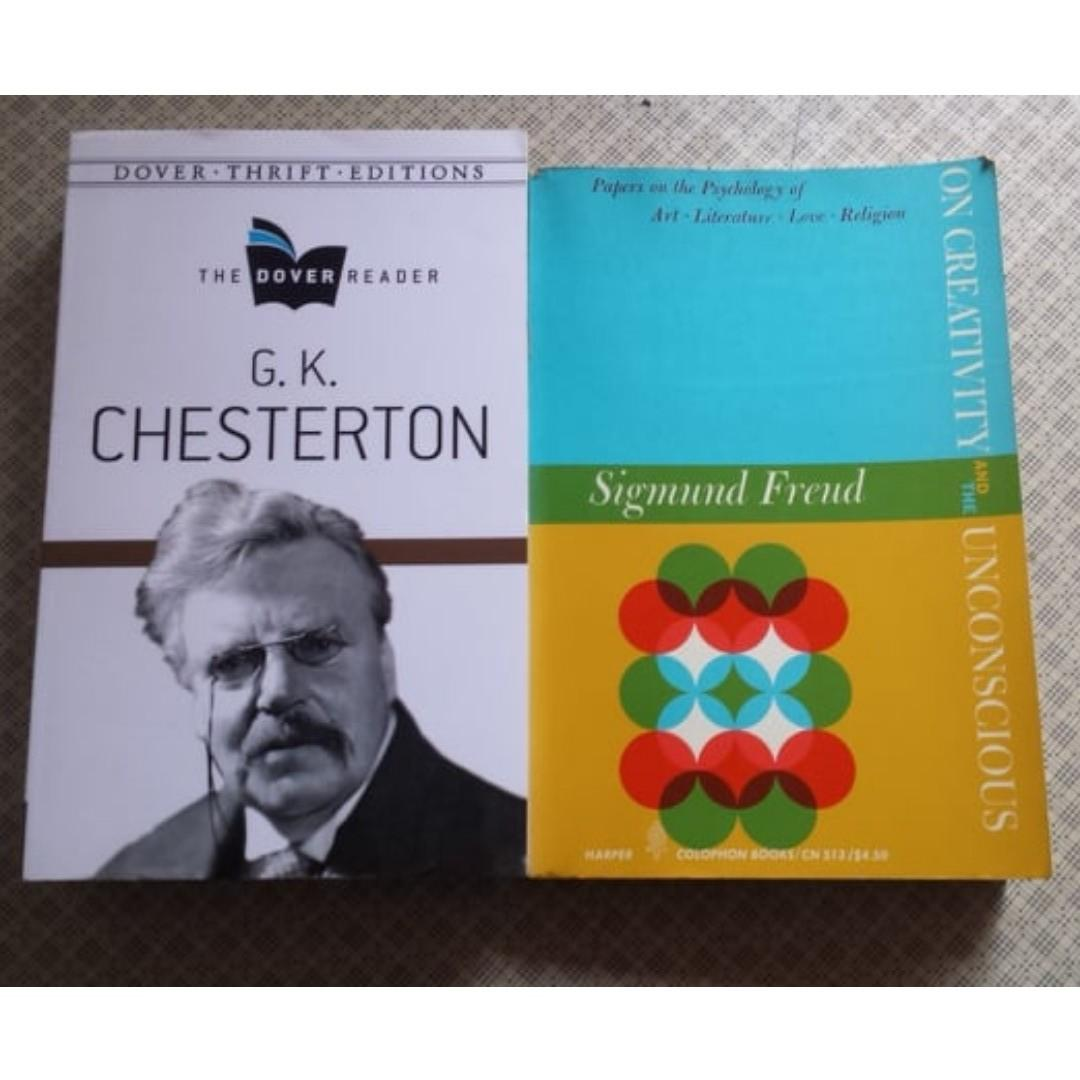 G.K. Chesterton Collected Works and  Sigmund Freud - On Creativity and the Unconscious