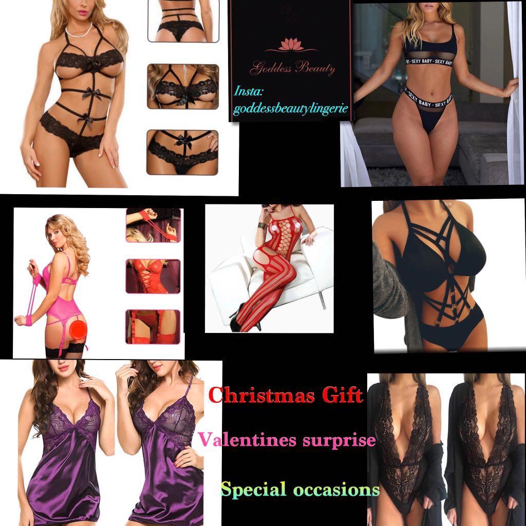 GoddessBeautyLingerie Bodysuit handcuff whips.Erotic Sexy Unique Bra&Panty