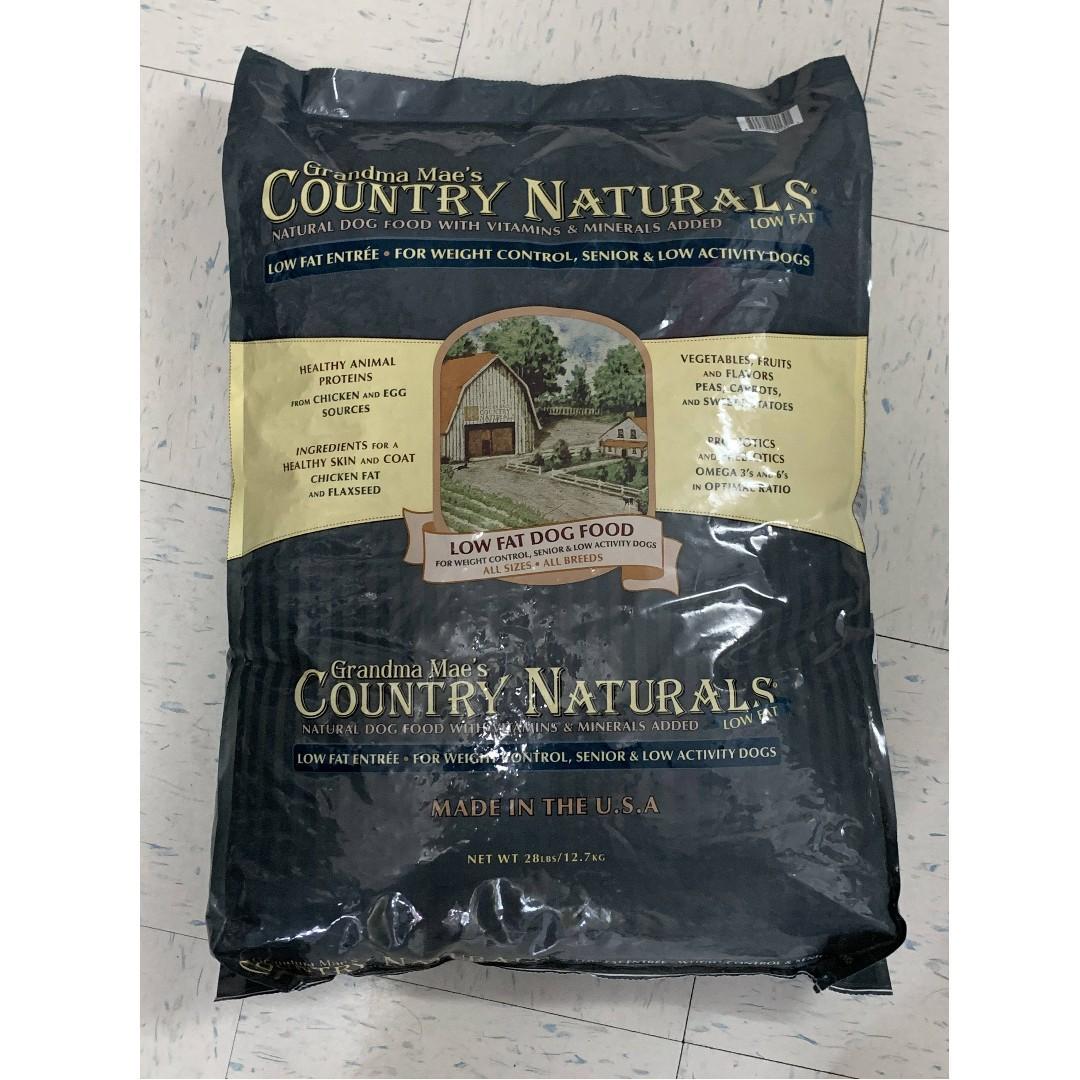 Grandma Mae's Country Naturals 狗乾糧 - 雞肉糙米低脂高纖配方 28lb