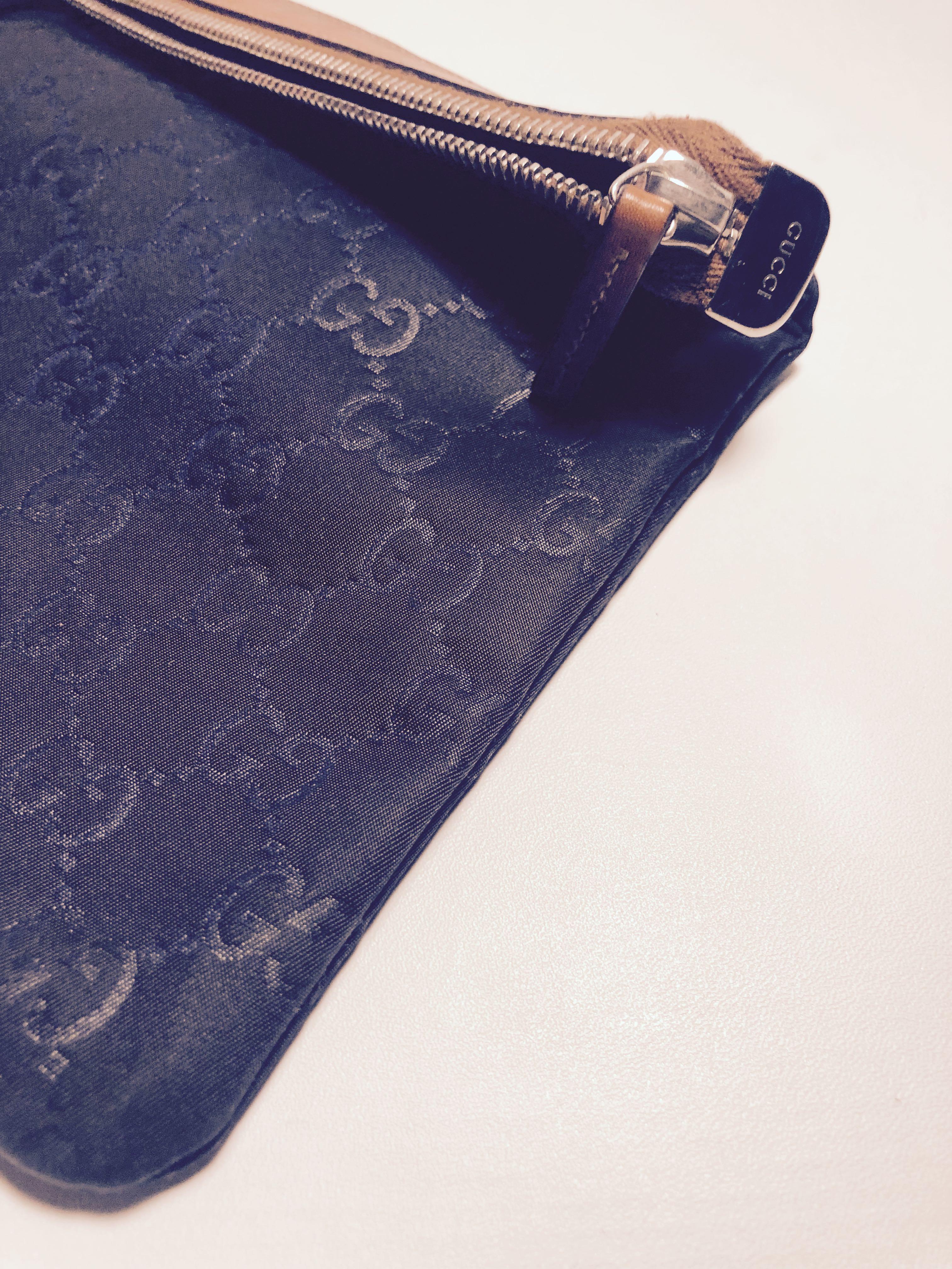 Gucci Guccisima Nylon Clutch/Pouch