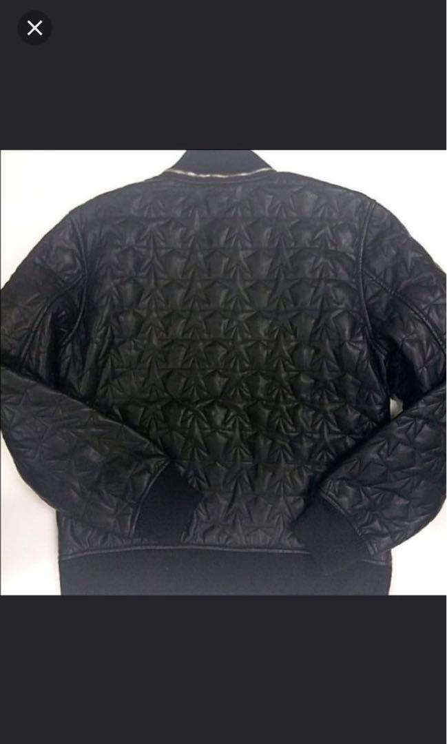 GUESS  Faux-leather Bomber 仿皮短褸