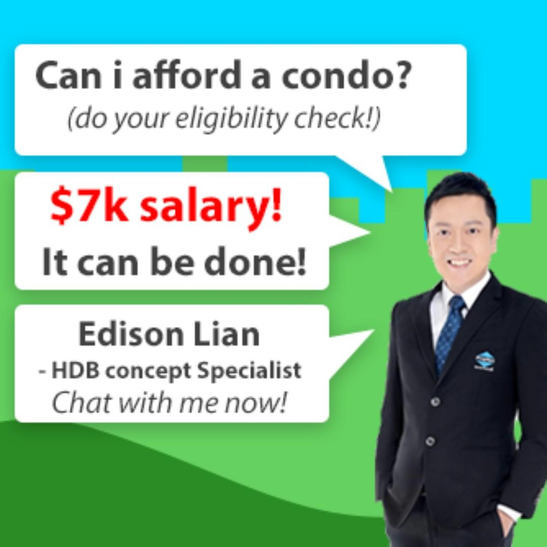 HDB Owners With 7K Salary