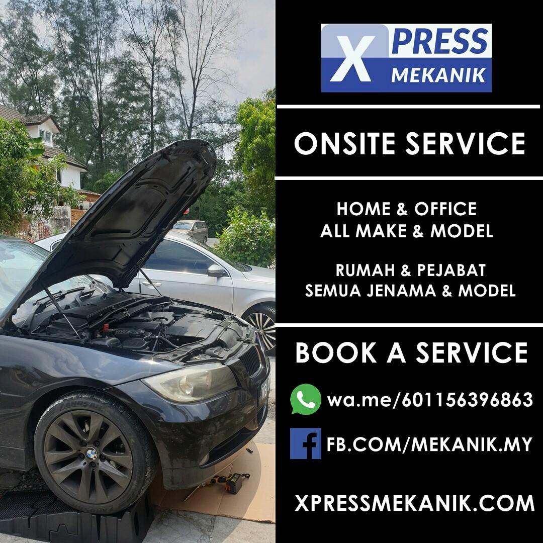 (HOT) SERVICE YOUR CAR @ HOME & OFFICE WITH XPRESS MEKANIK